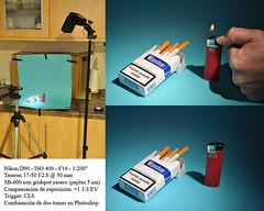 Setup 'Cigarro y Fuego'