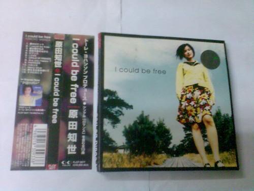 原裝絕版 1997年 2月20日 原田知世  TOMOYO HARADA I could be free  CD 原價 3000yen 中古品