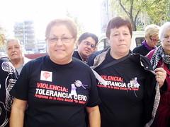 Actes del DIA INTERNACIONAL CONTRA LA VIOLNCIA VERS LES DONES (25/11/2009) (ddlm) Tags: sant adri lamina bess santadribess