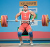 pashaye AZE (Rob Macklem) Tags: championship mens olympic minjae 94kg olympicweightliftingkoreaworldchampionshipsgoyangcity seonjong