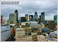 City of London view from the Monument (david gutierrez [ www.davidgutierrez.co.uk ]) Tags: from city urban panorama bu
