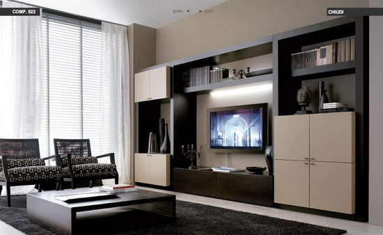 Modern Living Rooms from Tumidei Image Gallery