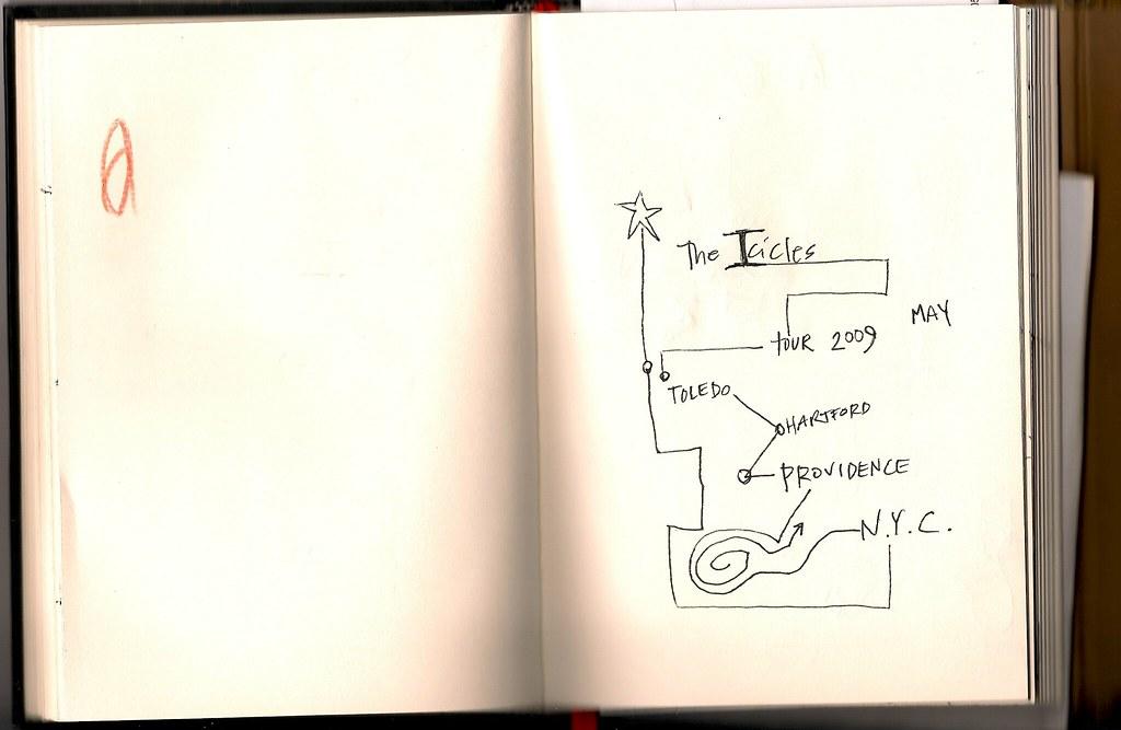 Tour Doodle: Page 1