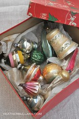 Treasure Box (Heather Bullard) Tags: christmas glass vintage antique ornaments collections collecting