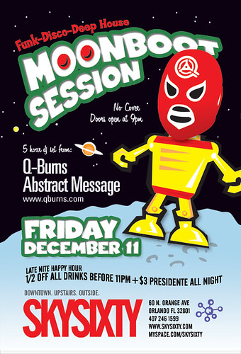 Friday, December 11 - Moonboot Session at SkySixty, Orlando FL