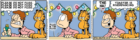 Garfield: Lost in Translation, December 9, 2009