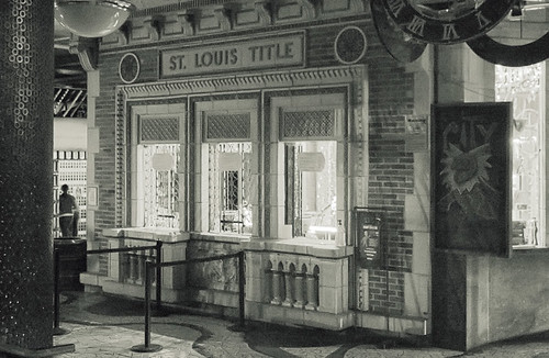 City Museum, in Saint Louis, Missouri, USA - ticket booth