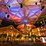 Singapore Clarke Quay Lighting