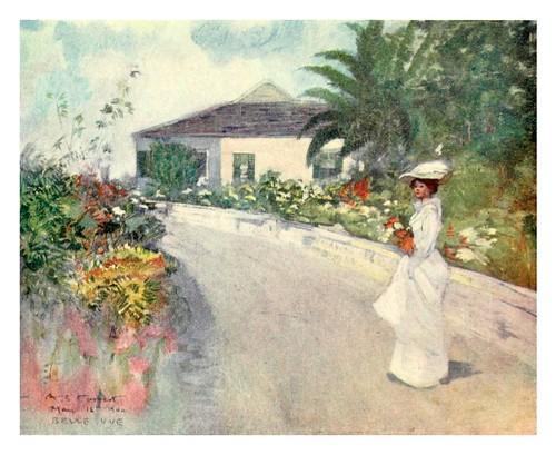 031-Un bungallow en las colinas de Jamaica-The West Indies 1905- Ilustrations Archibald Stevenson Forrest