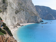 Greece - Lefkada (Been Around) Tags: beach strand greek europa europe travellers hellas eu september greece gr greekislands griechenland plage 2009 adria adriaticsea lefkas lefkada greekisland portokatsiki 5photosaday katsiki  ionischeinseln concordians worldtrekker september2009  visipix expressyourselfaward bauimage