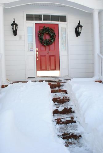 Path to the front door