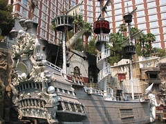 Treasure Island (Carly Whelan) Tags: treasureisland lasvegas pirateship