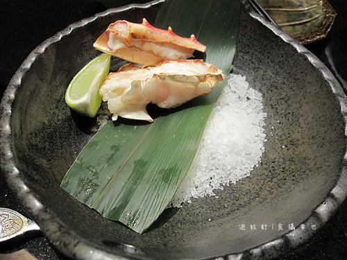 三井午間套餐烤蟹腳