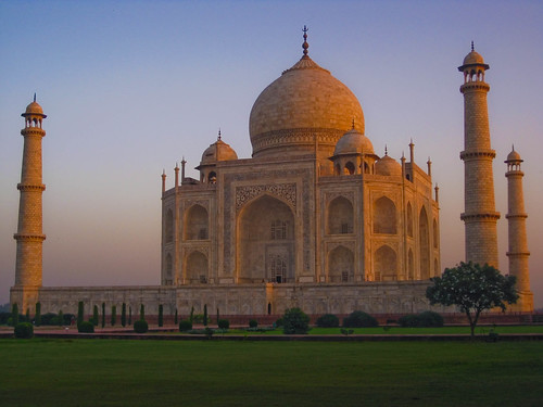 Taj Mahal Sunrise from India