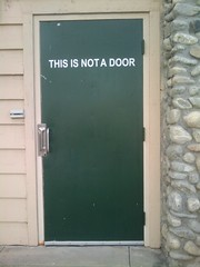 Door: This Is Not A Door.