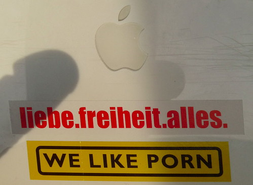 Stickers from 26C3 in Berlin