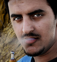 me (Shrf AlMalki..) Tags: portrait people man face photoshop portraits modified   shrf   almalki