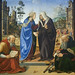 The Visitation with Saint Nicholas and Saint Anthony Abbot, c. 1490