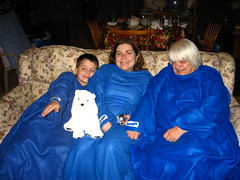 Snuggies all around!