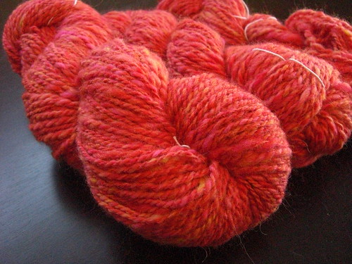 Wheelspun 42 - Sunset Yarn
