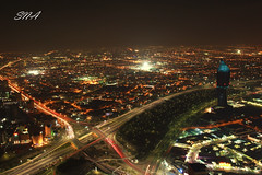 City of Lights (Sadeq Nader Abul) Tags: city light canon eos lights aperture mark ii 5d kuwait nader sadeq   abul