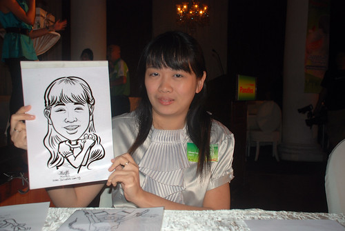 Caricature live sketching for GSK - 4