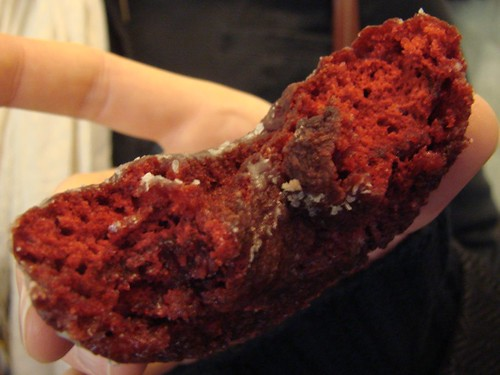 Peter Pan Red Velvet Doughnut