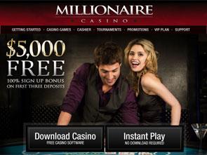 Millionaire Casino Home