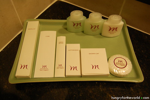 Toiletries at Grand Mercure Roxy