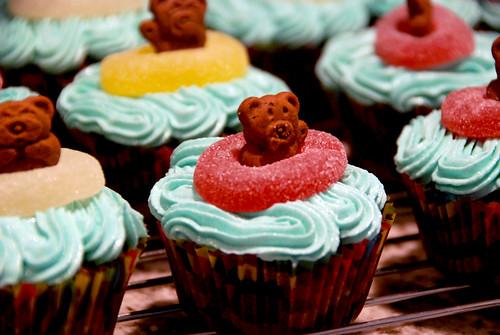 Cupcakes: Beach Bears