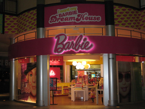 Barbie store at MOA
