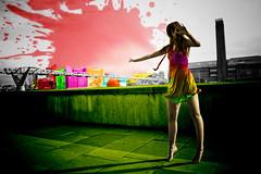 coloracin (DianaCGaitanP) Tags: cd ilustracin composicin caperucitaroja colorizacin felipeleon dianagaitan
