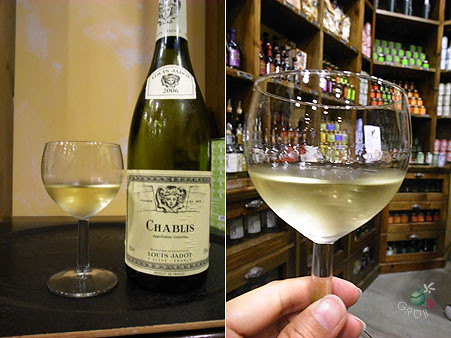 CHABLIS white wine 2006