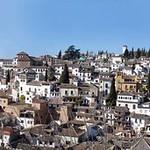 Granada: barrio del Albaicín