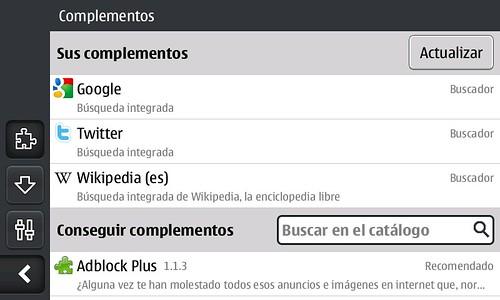 Firefox en N900.