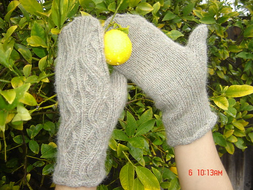 Twisted Mittens from TTL with Eastport Yarn