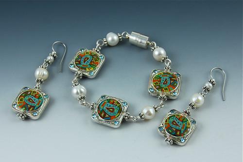Fish-n-Pearls Jewelry Set