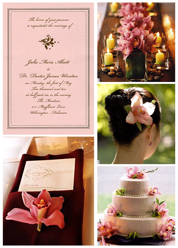 Pink Orchid Wedding