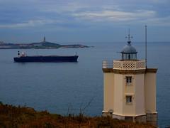 Faros (atenna) Tags: faro coruña hercules mera atlantico petrolero