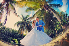Punta Cana, Dominican Republic, Wedding (Mukhina Ekaterina) Tags: wedding couple dominicanrepublic weddingdress puntacana