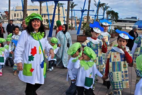 El Colegio Juan Caro de Carnaval 2010