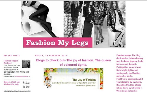 Feb 12 - Fashion my legs