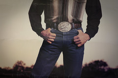 George (codooaustin) Tags: camera boy two portrait musician man beer face digital canon person store belt hands texas body mark dick country ad crotch ii singer western 5d budlight buckle advertisment pockets garwood georgestrait gentlman