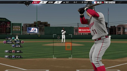 MLB 10: The Show Catcher Calling the Game 1