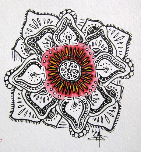 Mandala: Center of Bloom