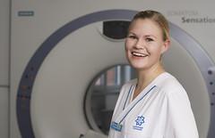 Margit på röntgen i Karlstad