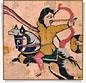 2892 - The Parthian shot detail (julianna.lees) Tags: ancient silk shroud textiles sassanian doubleheaded sassanid suaire