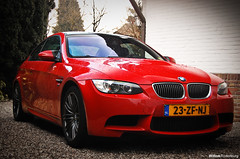 BMW M3 E92 (Willem Rodenburg) Tags: red 3 black holland sedan photoshop germany nikon nederland m bmw motor 1855 m3 rims coupe v8 willem d40 e92 rodenburg