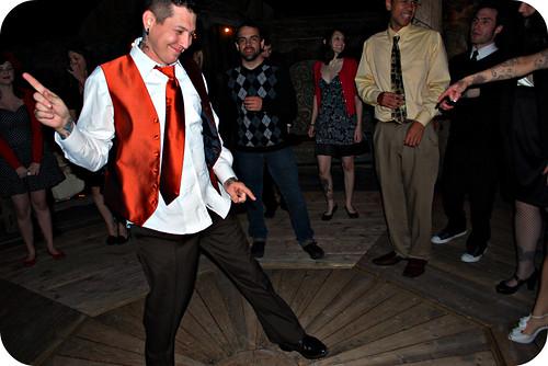 Jason dancing