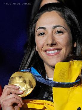 Lydia Lassila takes Gold